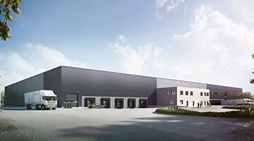 Aurelis Real Estate Logistikanlage im GVZ Bremen