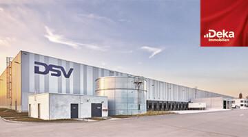 Deka Immobilien Logistikzentrum DSV