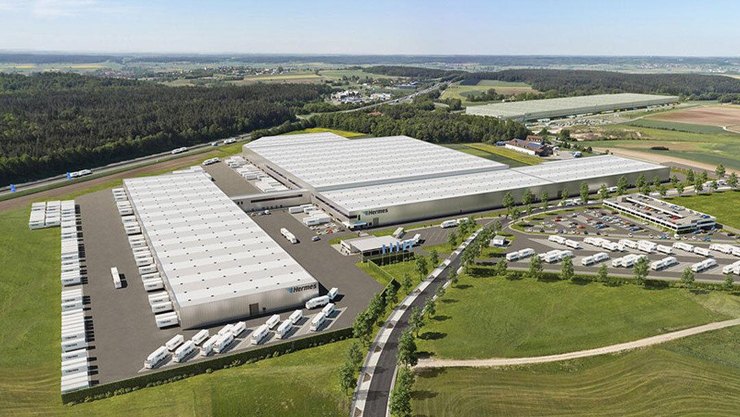 Savills übernimmt Logistikneubau in Ansbach von ECE