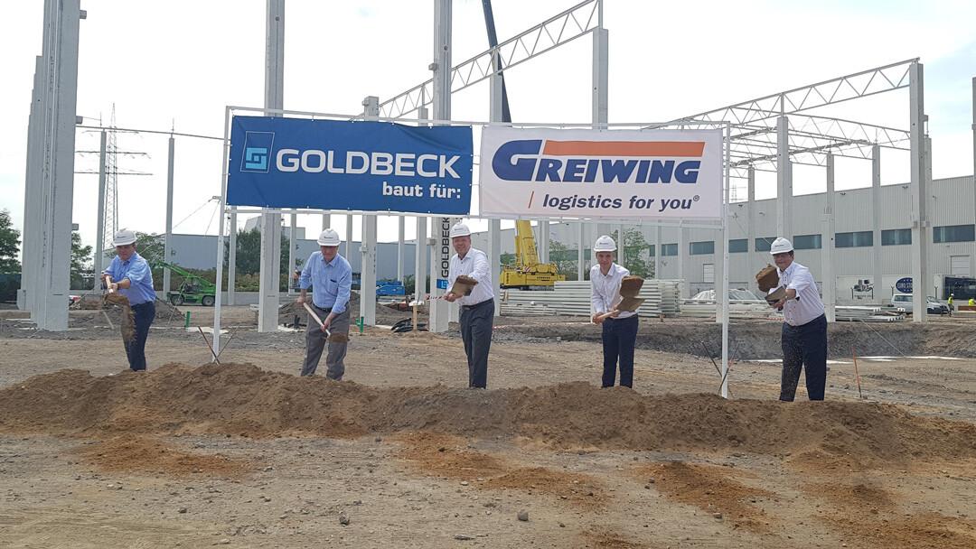 Greiwing expandiert im Duisburger Logport