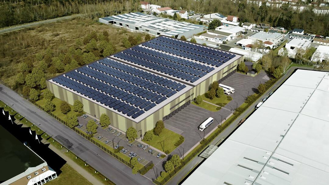 """Logistikregion Rhein-Neckar: Panattoni entwickelt spekulativ und """"grün"""""""