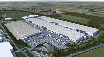GARBE Logistikzentrum Werne