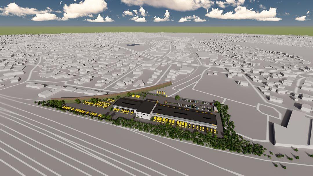 Gewerbezentrum Gütersloh geht an den Markt