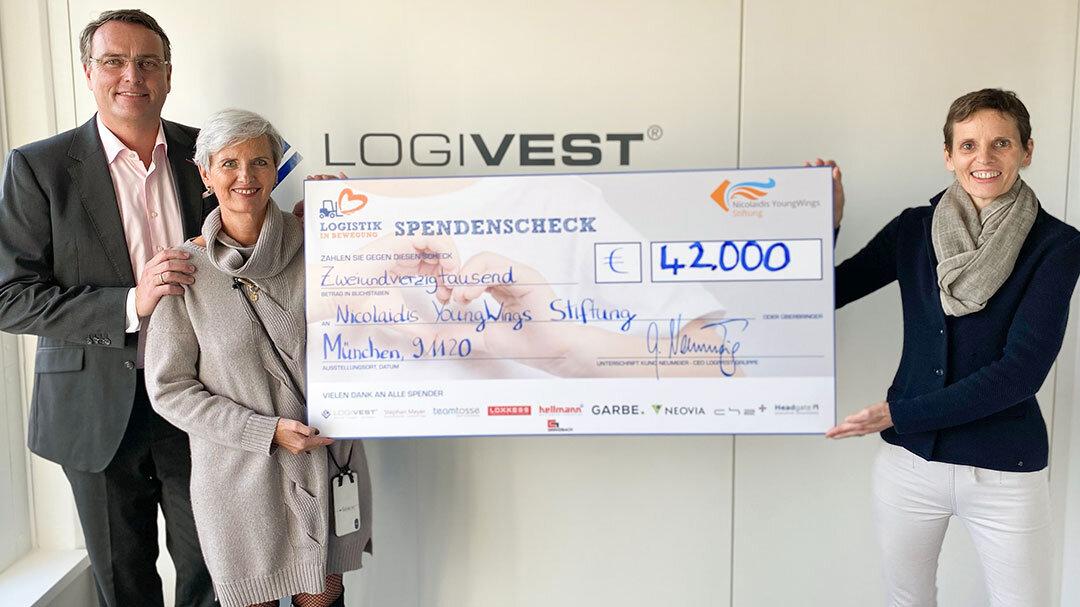 Logistik in Bewegung – Charity-Aktion übertrifft alle Erwartungen