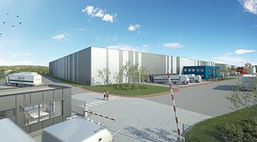 Ixocon Logistikpark Potsdam