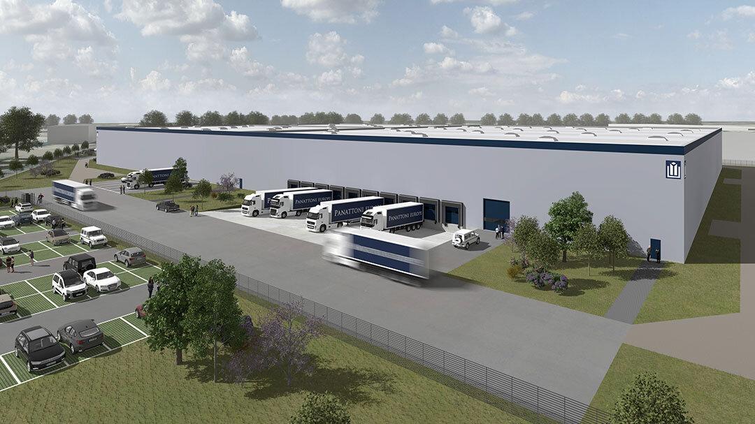 Vor Fertigstellung: Panattoni erreicht Vollvermietung im Essener Hafen