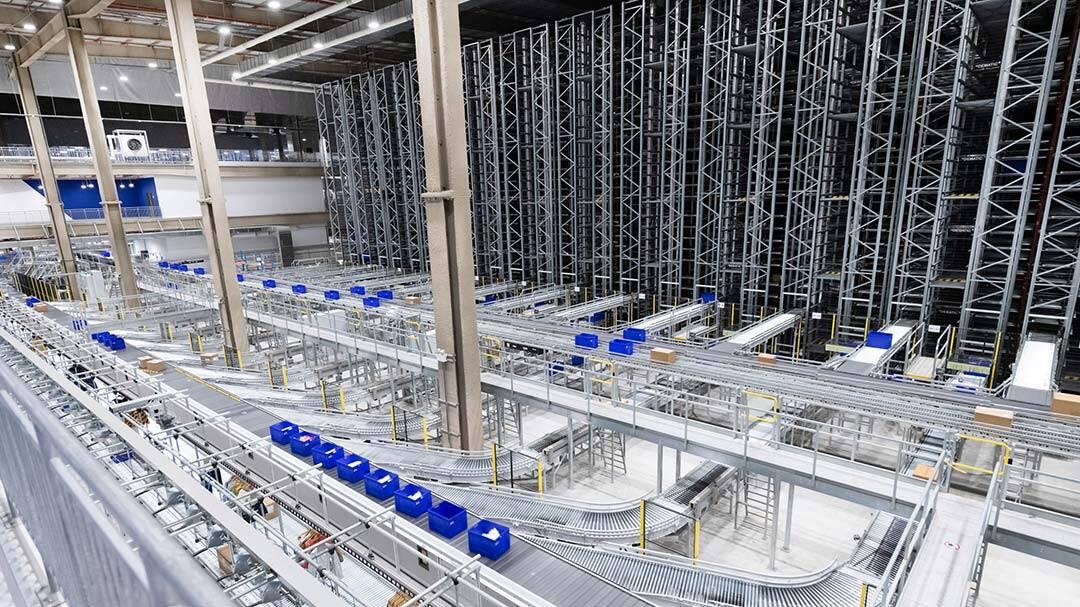 Dematic automatisiert Distributionszentrum für die Landmark Group