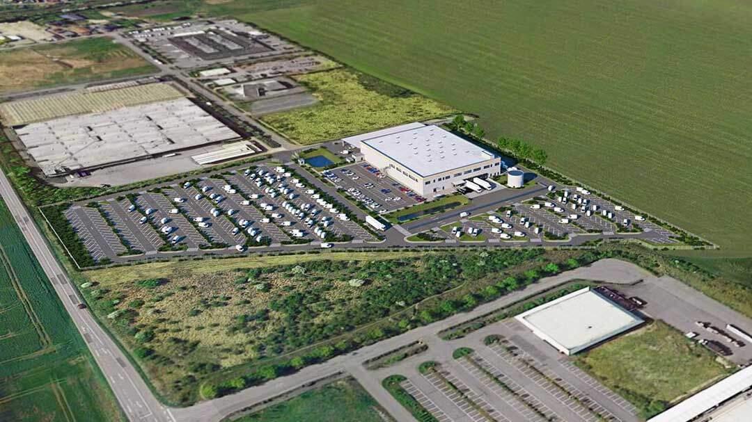 Scannell Properties entwickelt für Amazon in Sachsen-Anhalt