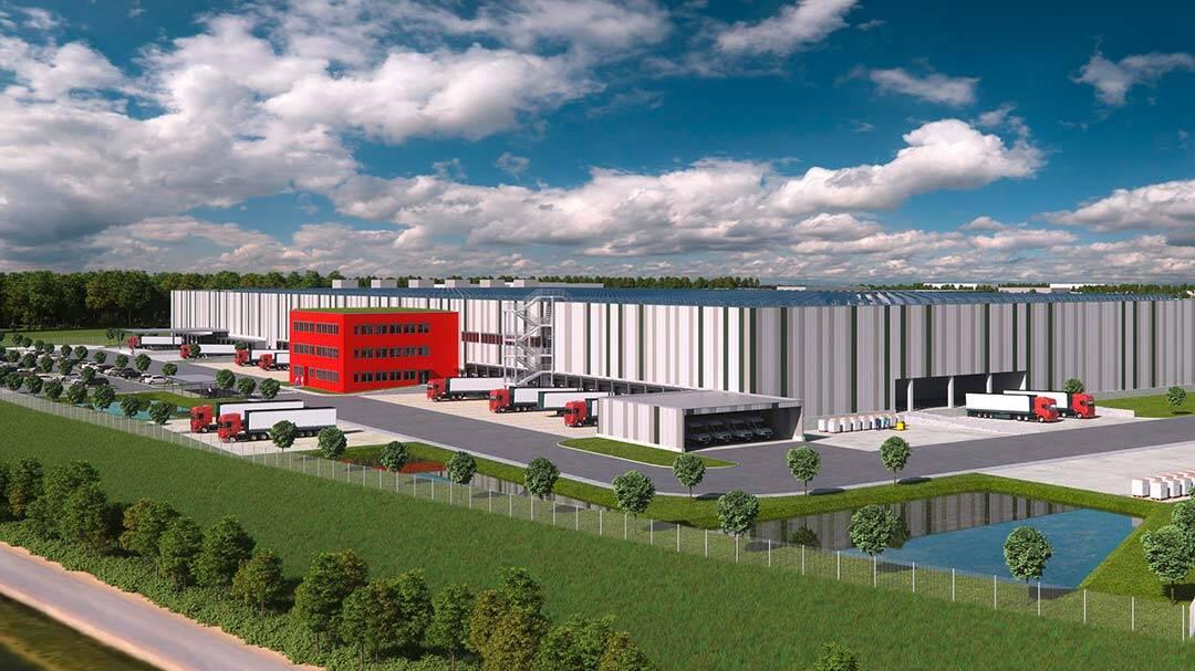 Aconlog und Bauwo bauen Logistikimmobilie in Kerpen