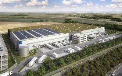 Garbe Industrial Real Estate baut Verteilzentrum für Amazon