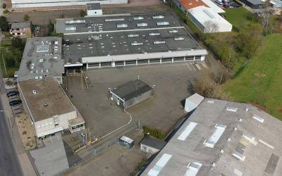 Aconlog erwirbt Brownfield und entwickelt Logistiksolitär
