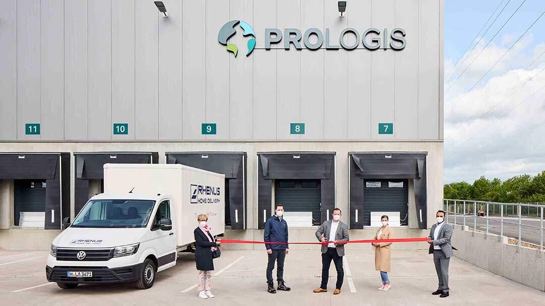Prologis übergibt Logistikanlage an Rhenus
