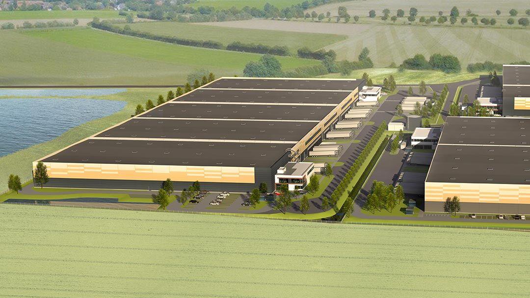 GSE und E-Gruppe starten Bau von drei Logistikimmobilien