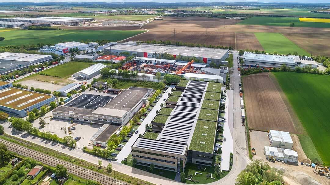 Panattoni entwickelt City Dock bei München