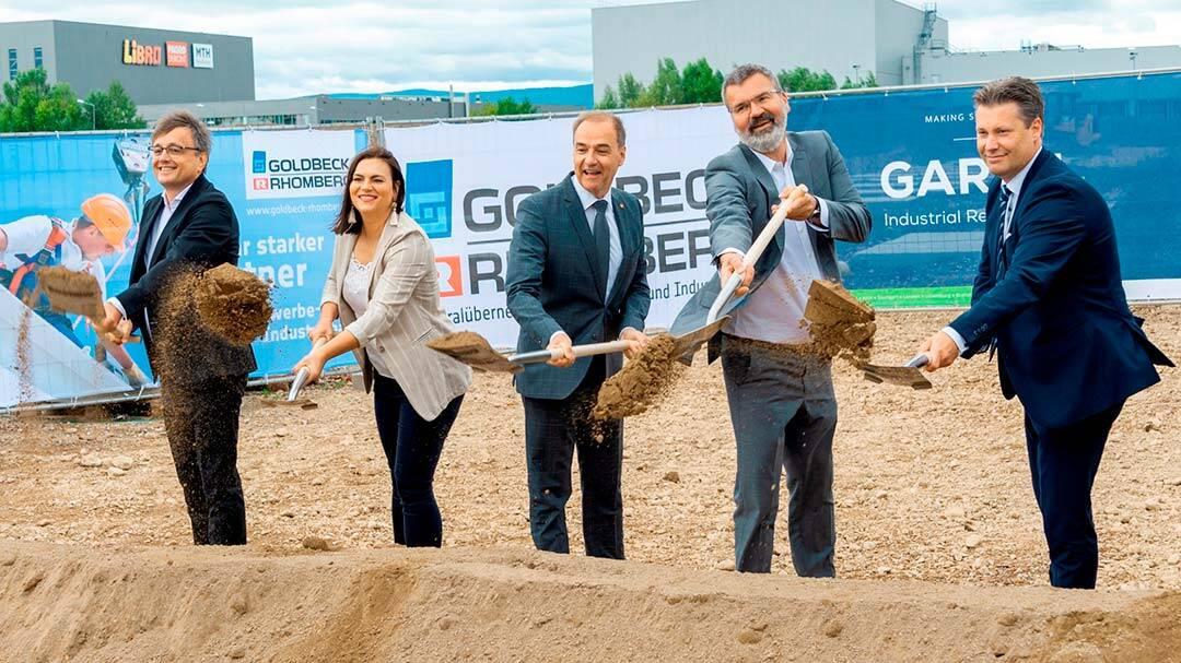 Garbe: Spatenstich für Logistikimmobilie in Österreich