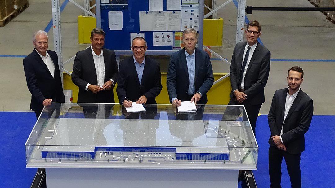 Beos Logistics entwickelt große Logistikimmobilie bei Duisburg