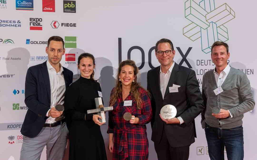Logix Award: Prologis zum zweiten Mal in Folge ausgezeichnet