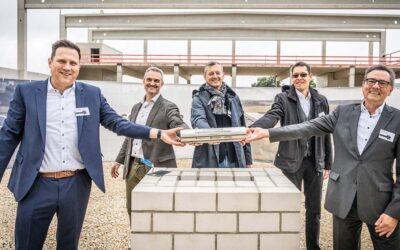 Panattoni und DB Schenker feiern Grundsteinlegung