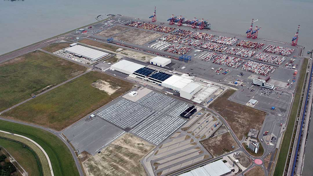 Flächen im Güterverkehrszentrum Jade-Weser-Port im Fokus